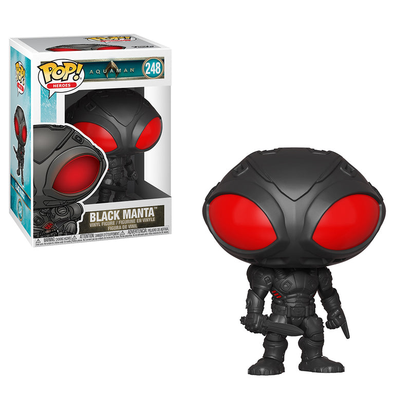 Aquaman -  Funko Pop - Black Manta - Preorden