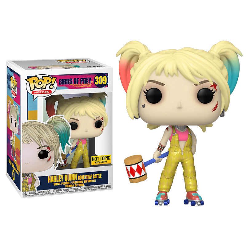 Birds Of Prey - Funko POP - Harley Quinn Boobytrap Battle - Edición Limitada