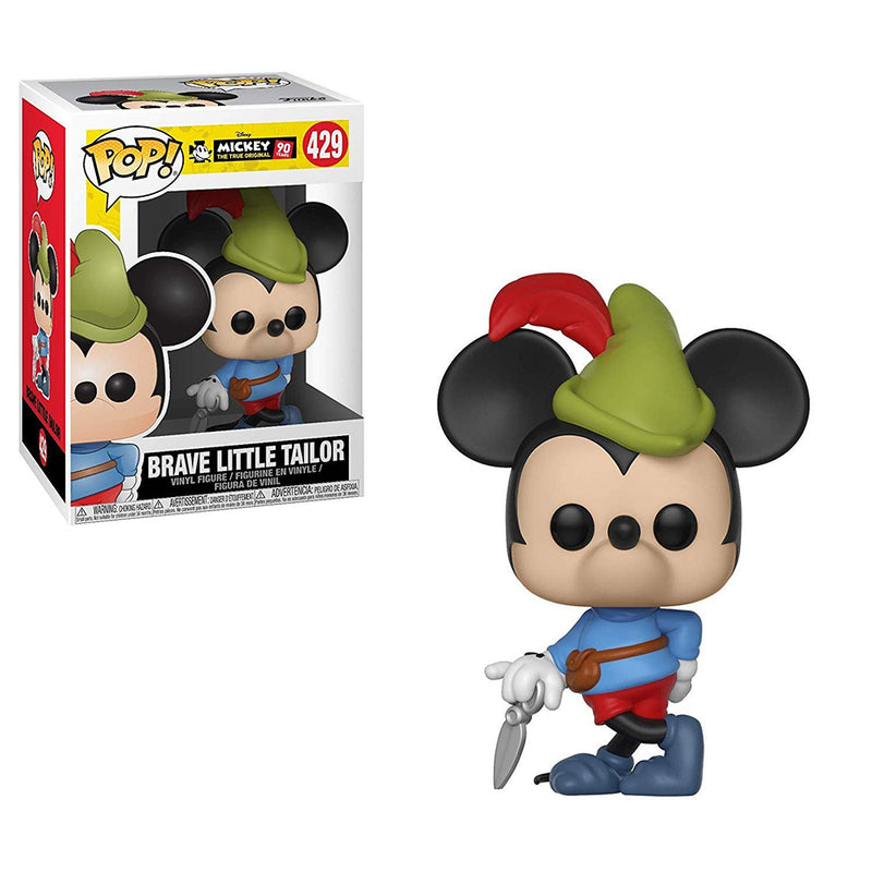 Mickey 90 Años - Funko Pop - Brave Little Tailor - Preorden