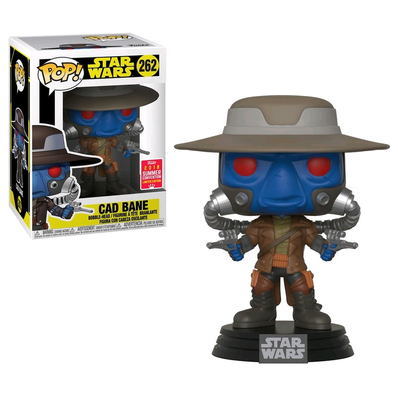 "Star Wars - Funko Pop - Cad Bane - ""Summer Convention"" Edición Limitada"