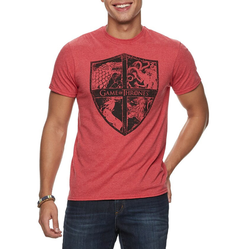 Game of Thrones - Camiseta - Houses - Hombre