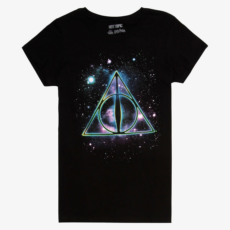 Harry Potter - Camiseta – Deathly Hallows Galaxy - Mujer