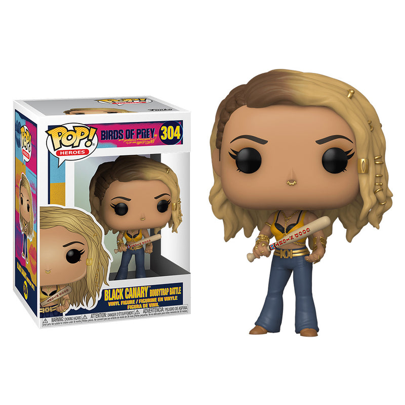 Birds Of Prey - Funko POP - Black Canary Boobytrap Battle