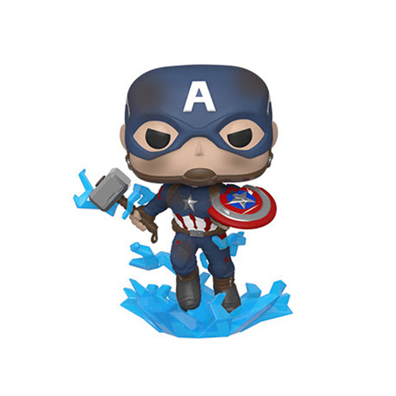 Avengers Endgame - Funko POP - Captain America with Broken Shield and Mjolnir - Preorden