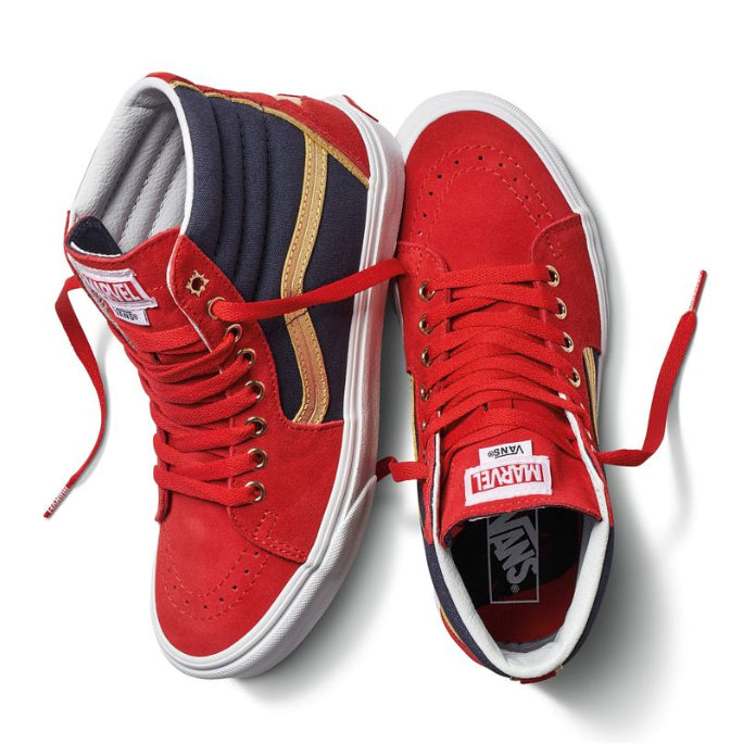 Marvel - Zapatos - Vans - Captain Marvel - Preorden