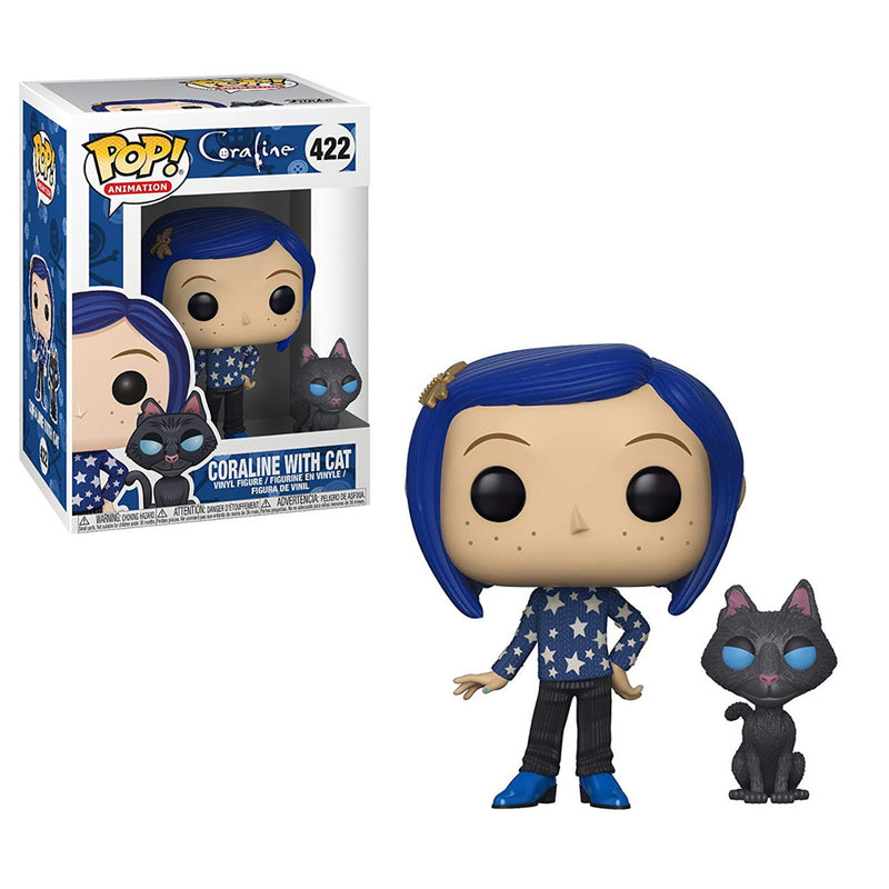 Coraline - Funko POP -  Coraline with cat - Preorden