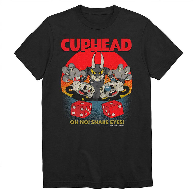 Cuphead - Camiseta - Don't Deal with the Devil - Hombre