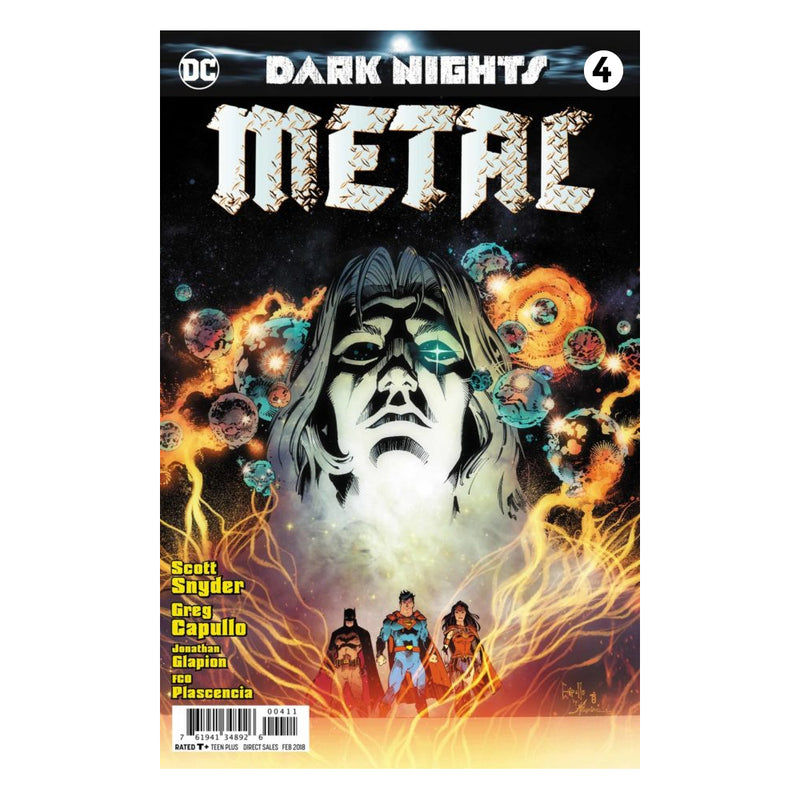 Dark Nights Metal # 4 y 5 - Comic -  Edic. Limitada - Ingles
