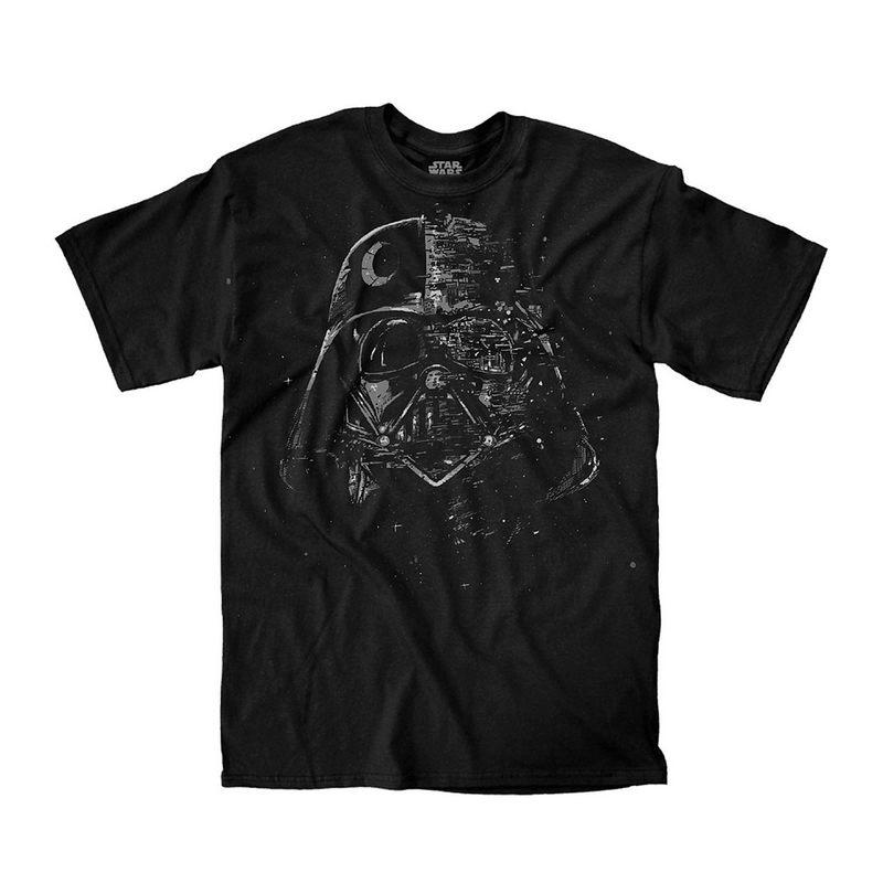 Star Wars - Camiseta - Broken Mask Vader - Hombre