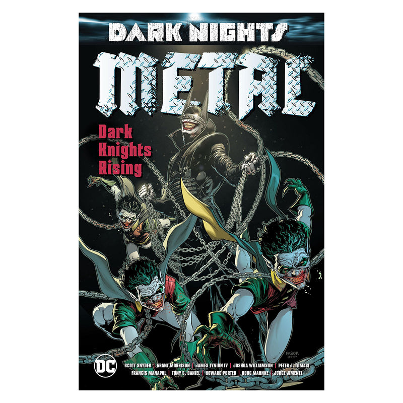 Dark Nights: Metal: Dark Knights Rising - Novela Gráfica -  Edic. Deluxe - Inglés