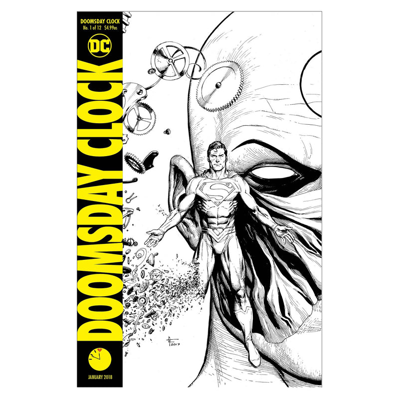 Doomsday clock #1 - Comic (Portada D) - Inglés