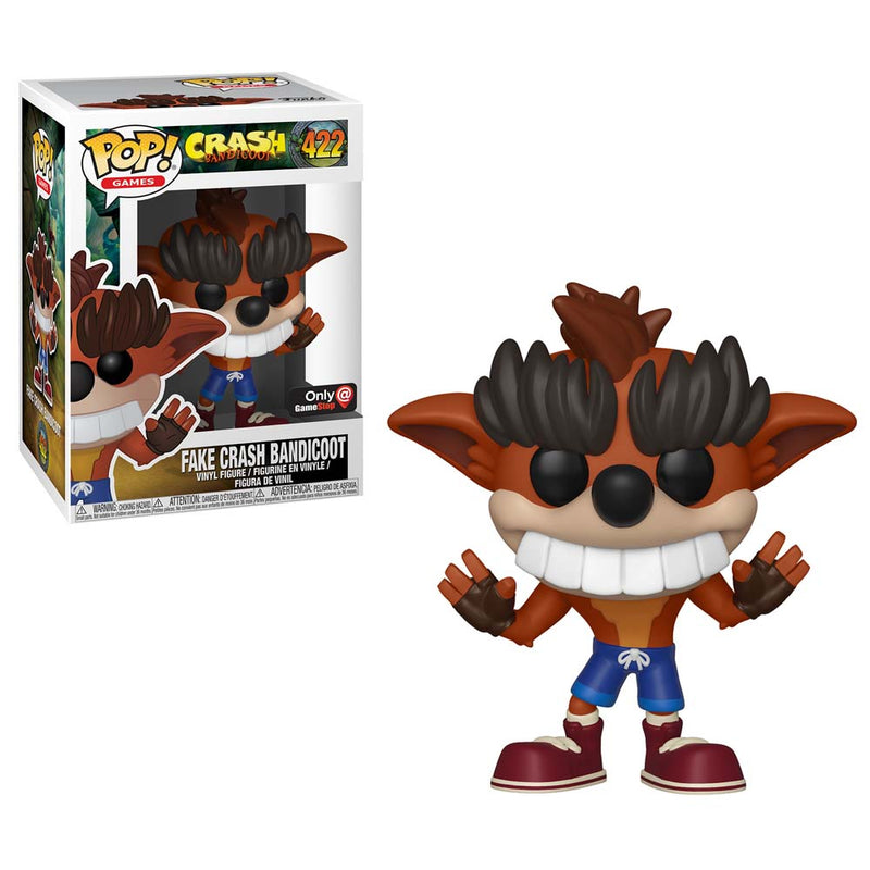 Crash Bandicoot -  Funko Pop - Fake Crash - Edición Limitada