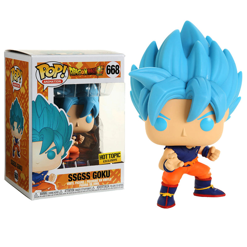 Dragon Ball Super - Funko POP - SSGSS Goku - Edición Limitada