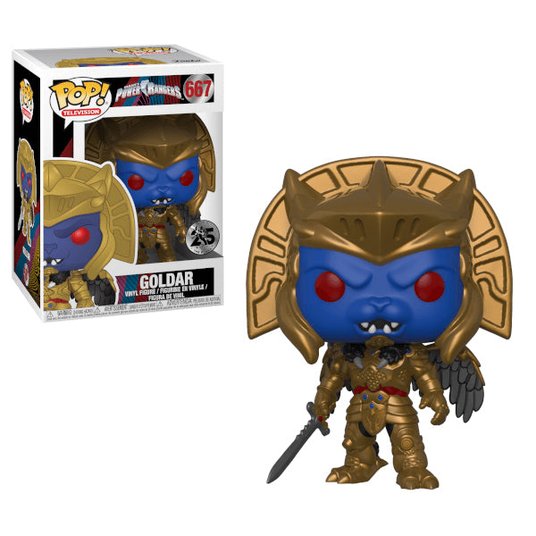 Power Rangers - Funko POP - Goldar - Preorden