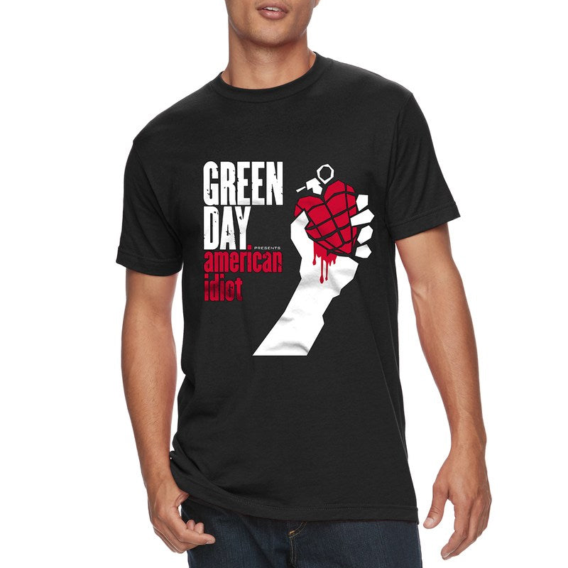Green Day - Camiseta - American Idiot - Hombre