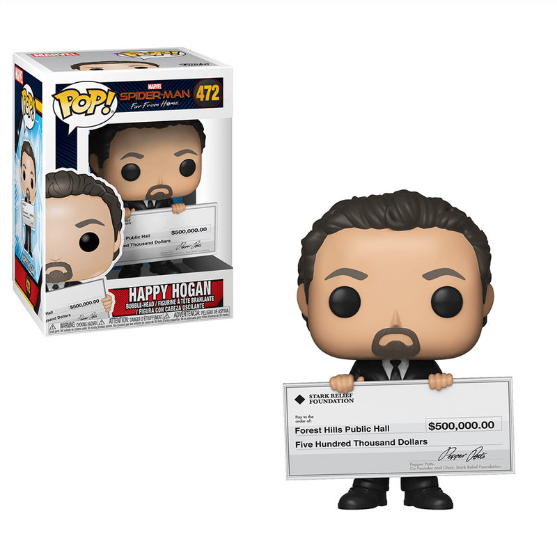 Spider-Man: Far From Home - Funko Pop - Happy Hogan - Preorden