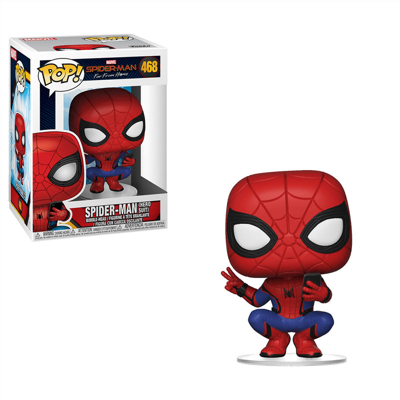 Spider-Man: Far From Home - Funko Pop - Spider-Man (Hero Suit) - Preorden