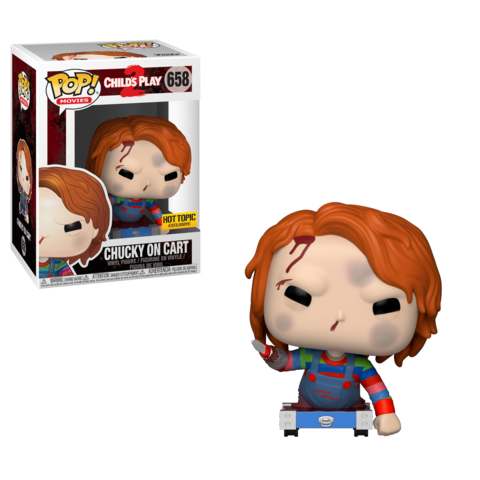 Chucky - Funko POP -  Chucky on cart - Edición Limitada