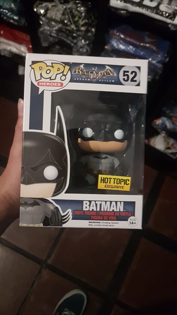 Batman arkham exclusive