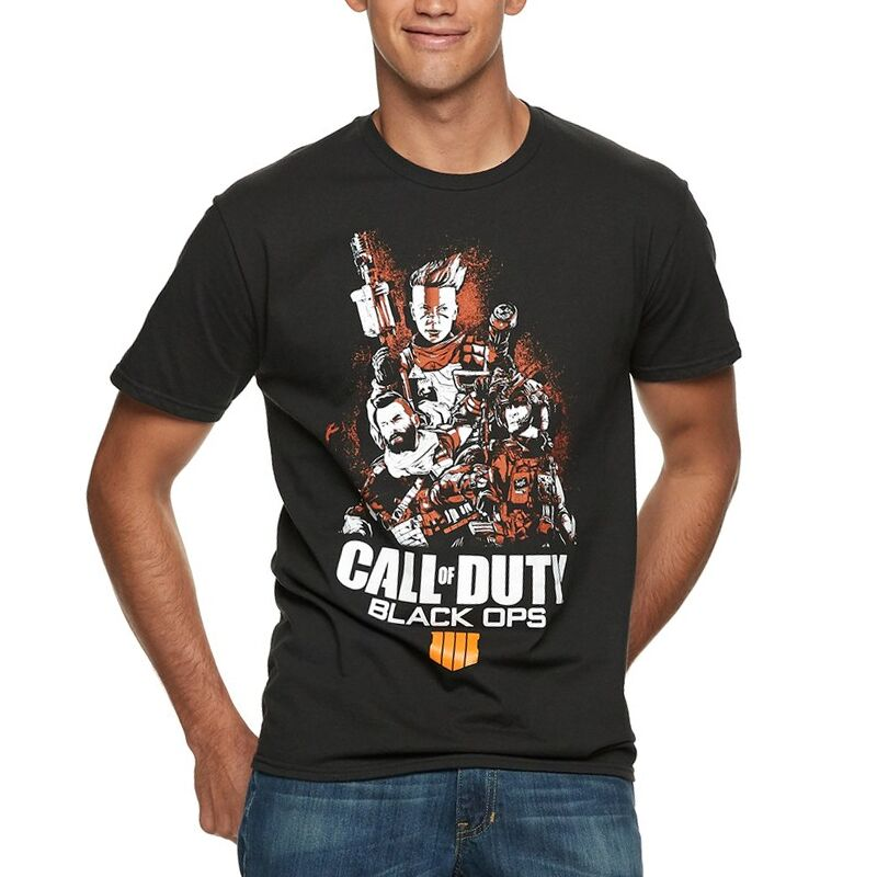 Call Of Duty - Camiseta - Black Ops 4 - Hombre