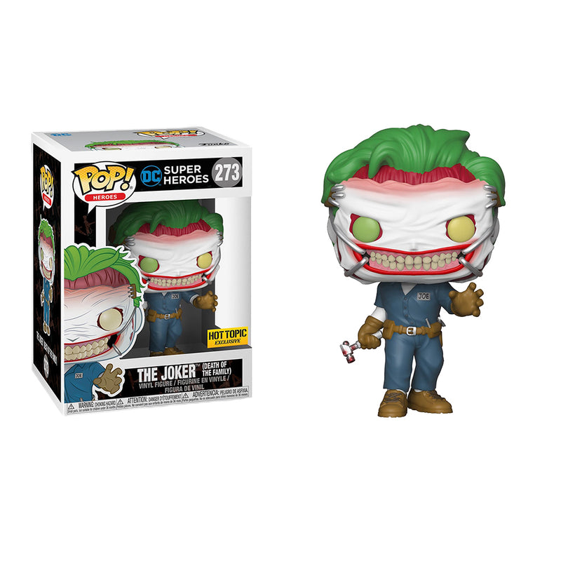 DC Super Heroes - Funko POP - The Joker (Death of the Family) - Edición Limitada - Preorden