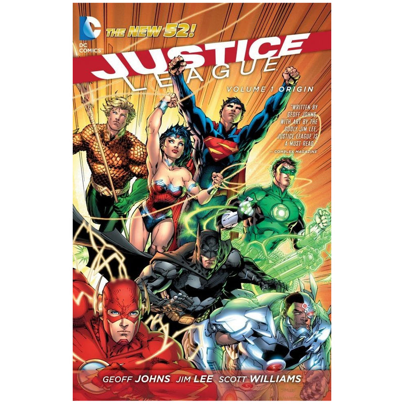 Justice League: Origin (The new 52) - Novela Gráfica - Inglés