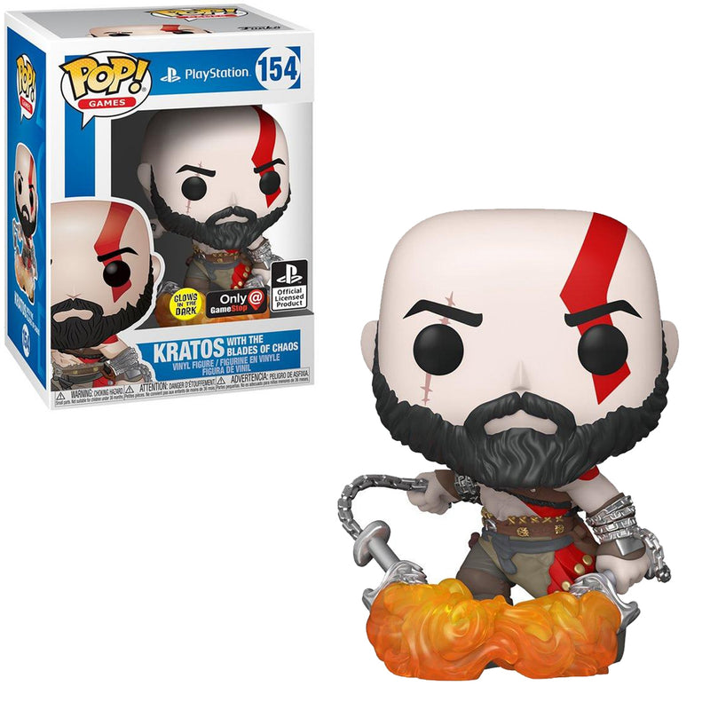 God of war - Funko Pop - Kratos with the Blades of Chaos Edición Limitada - Preorden