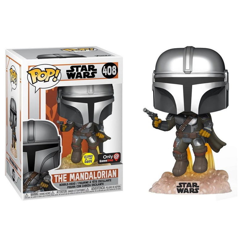 Star Wars The Mandalorian - Mandalorian Flying with Blaster - Edición Limitada -  Preorden