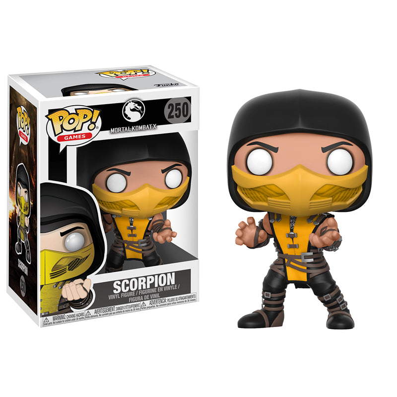 Mortal Kombat - Funko Pop - Scorpion - Preorden