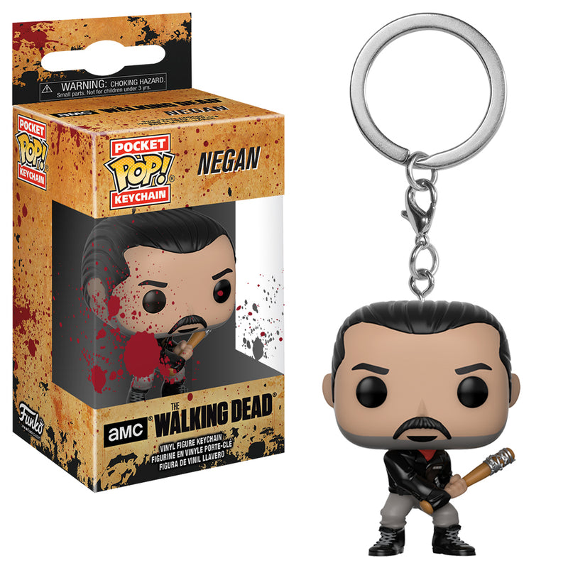 The Walking Dead - Funko POP Llavero - Negan