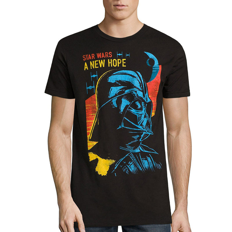 Star Wars - Camiseta Darth Vader New Hope – Hombre