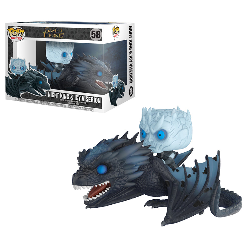 Game of Thrones - Funko POP Rides - Night King & Icy Viserion