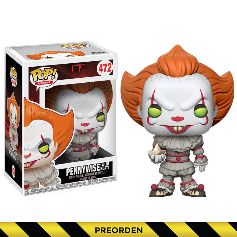IT -  Funko Pop - Pennywise with boat – Preorden