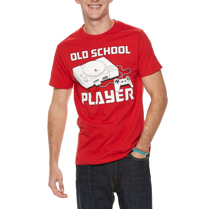 Playstation - Camiseta - Old School Player - Hombre