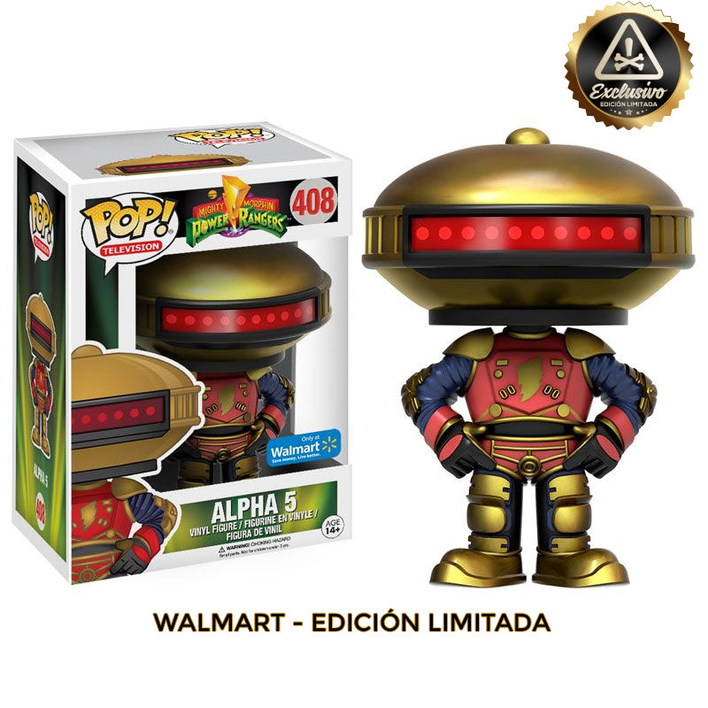 Power Rangers - Funko POP - Alpha 5  - Edición Limitada