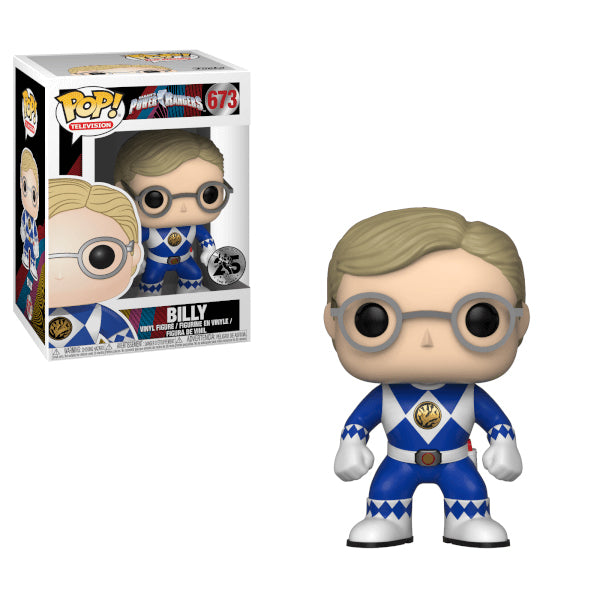 Power Rangers - Funko POP - Blue Ranger  Billy - Preorden
