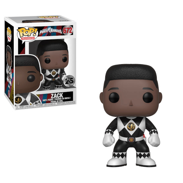Power Rangers - Funko POP - Black Ranger Zack - Preorden