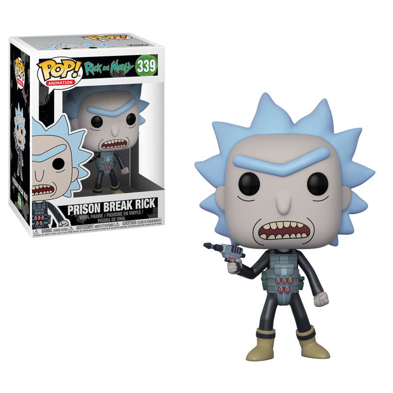 Rick and Morty -  Funko Pop - Prison Break Rick