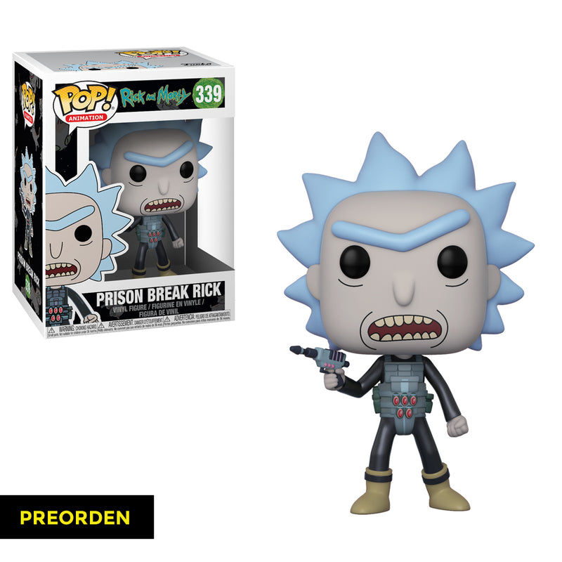Rick and Morty -  Funko Pop - Prison Escape Rick - Preorden