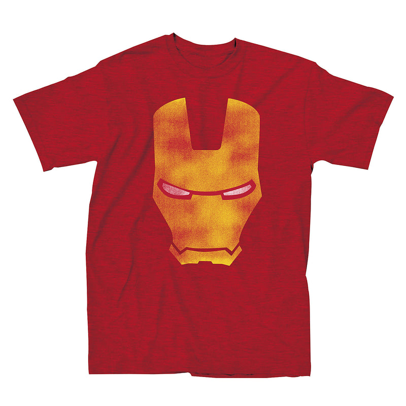 Iron Man - Camiseta - Red Face - Hombre