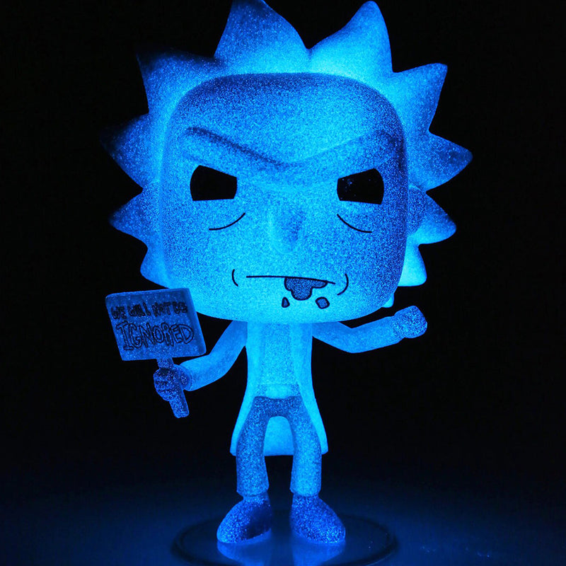 "Rick and Morty -  Funko Pop - Hologram Rick Clone - Edición Limitada ""Hot Topic"""