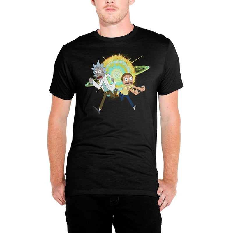 Rick and Morty - Camiseta - Estallido