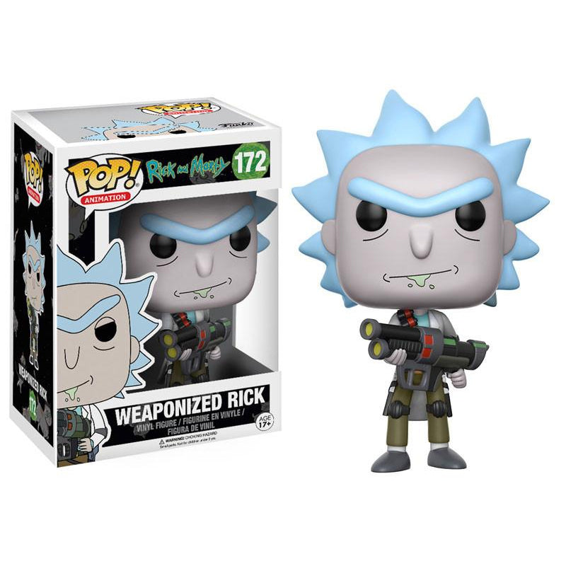 Rick and Morty -  Funko Pop - Weaponized Rick