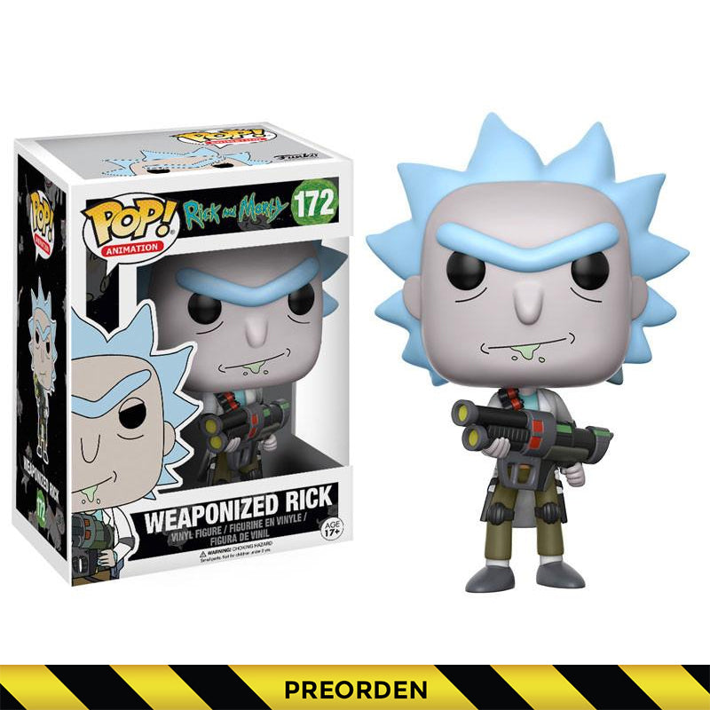 Rick and Morty -  Funko Pop - Weaponized Rick - Preorden