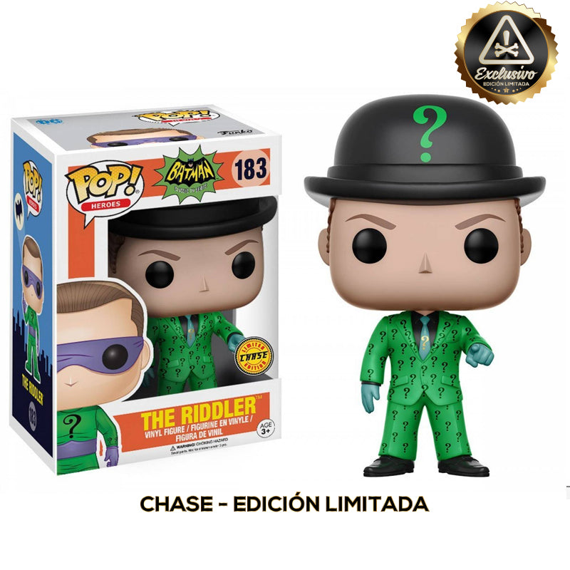 "Batman - Funko Pop - Riddler 1996 - Edición limitada ""Chase"""