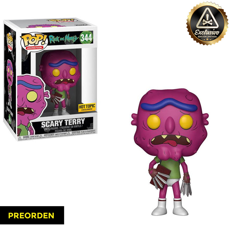Rick and Morty -  Funko Pop - Scary Terry - Edición Limitada - Preorden