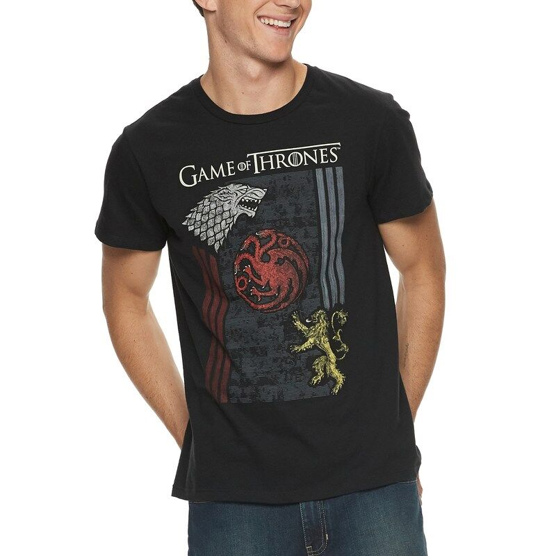 Game of Thrones - Camiseta - Emblemas - Hombre
