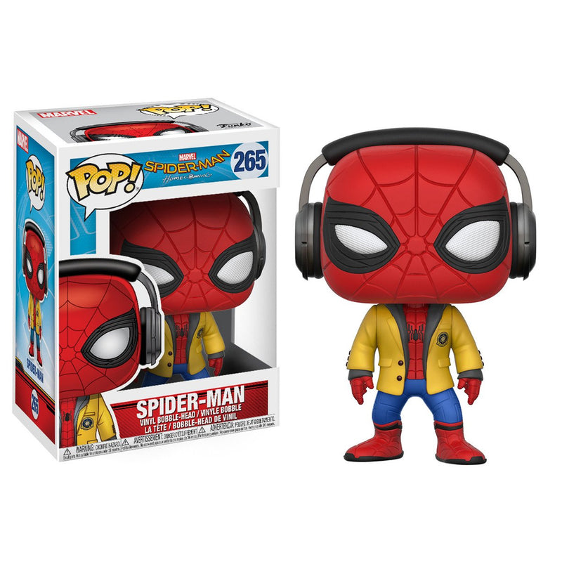 Spider-Man Homecoming - Funko Pop - Spiderman  with Headphones