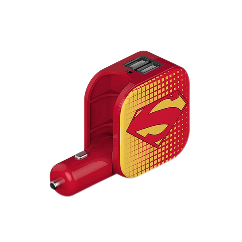 Cargador USB - 2 en 1 - Superman