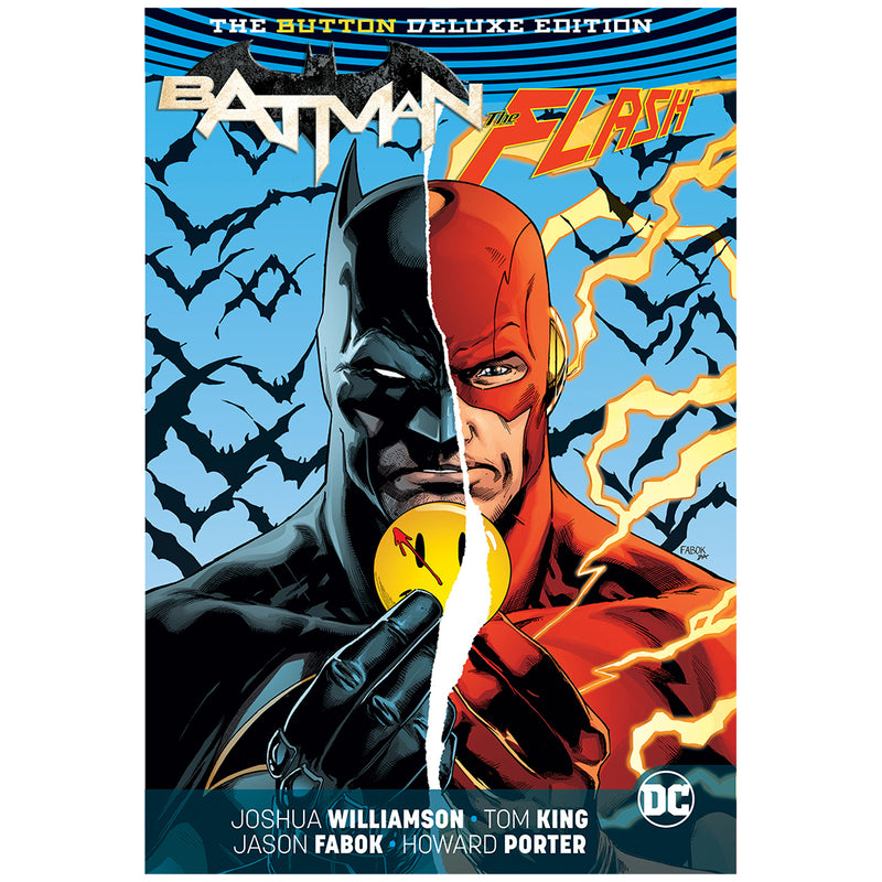 Batman - The Flash - The Button Deluxe - Novela Gráfica -  (Pasta dura) - Inglés